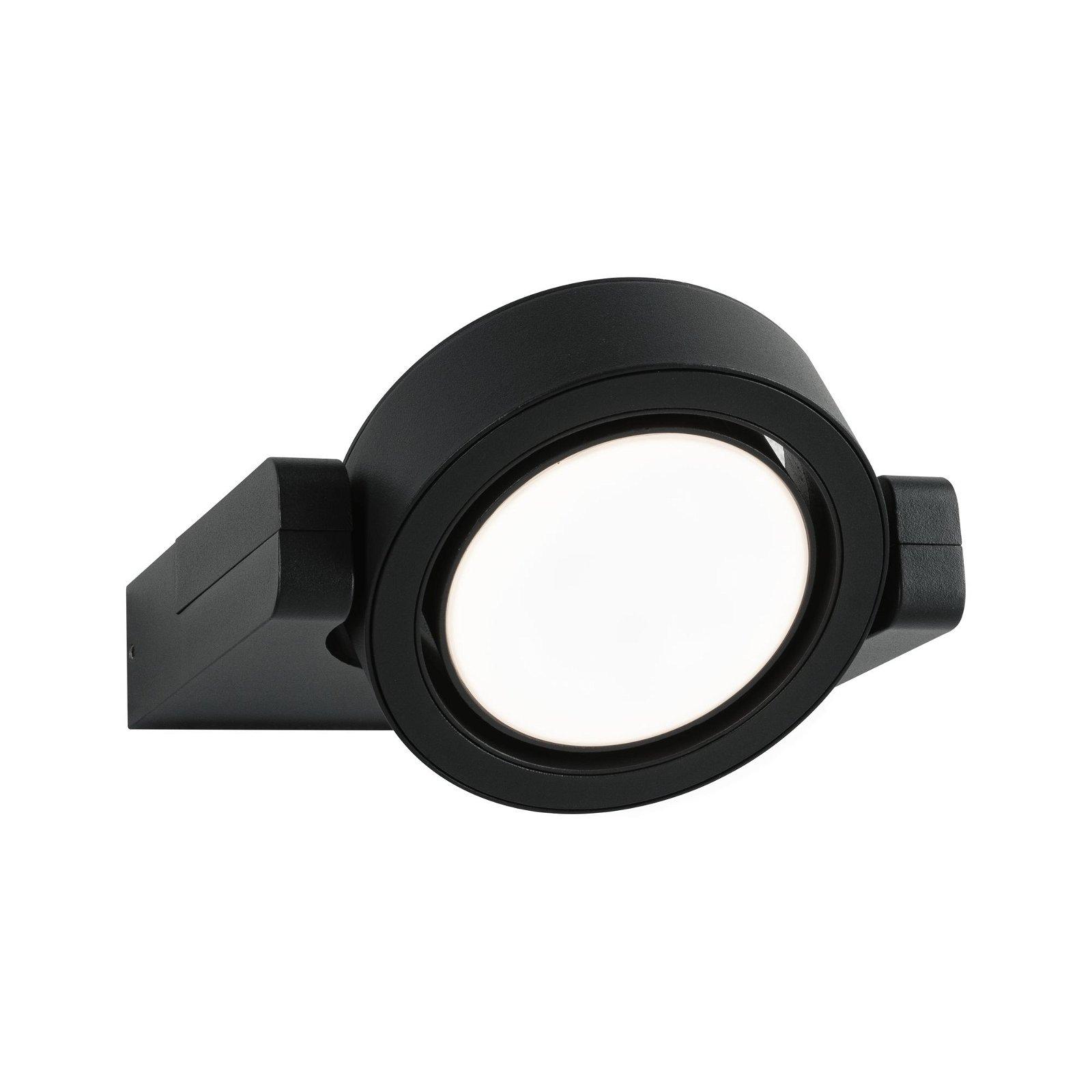 LED Außenwandleuchte Swivea IP44 183x206mm 3000K 8W 1150lm 230V Anthrazit Aluminium