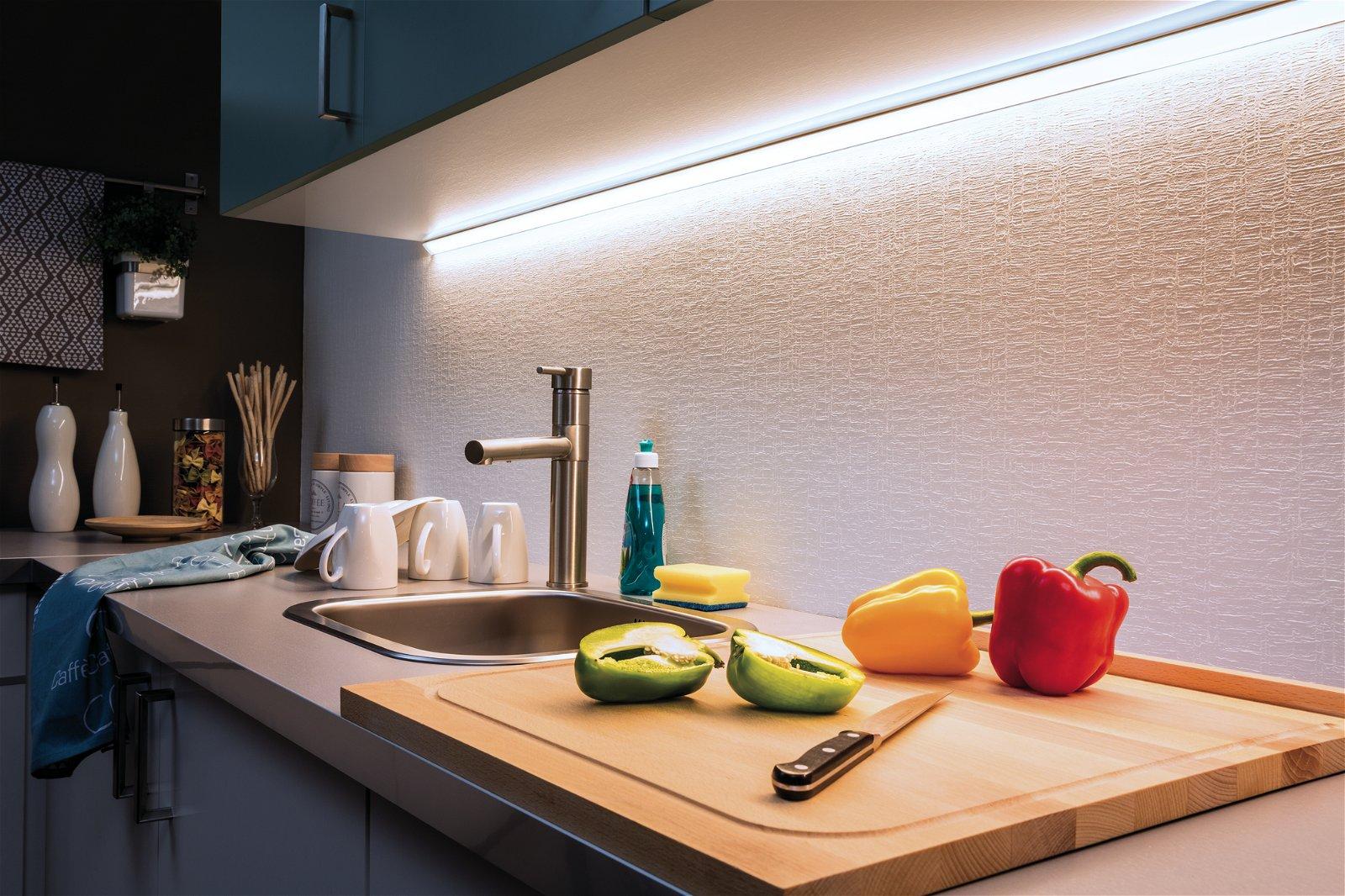 MaxLED 1000 Strip LED Blanc lumière 1,5m recouvert 18W 1650lm 6500K 20VA