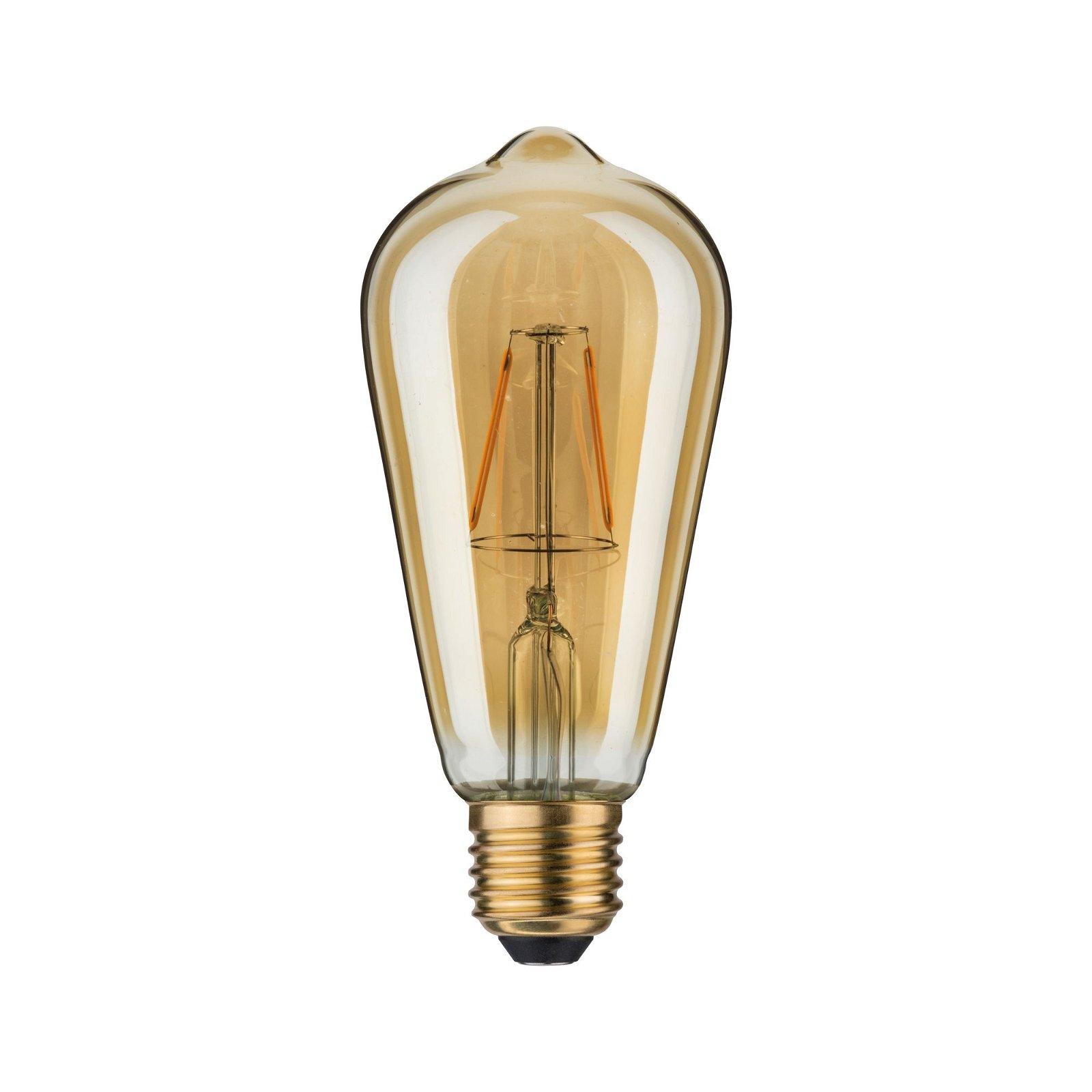 1879 LED Kolben Rustika E27 230V 150lm 2,5W 1700K Gold