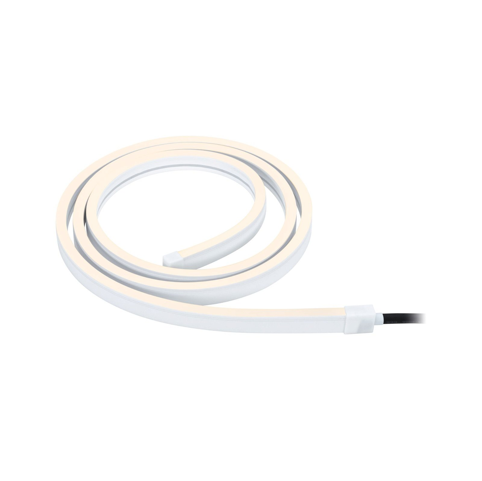 Plug & Shine LED Stripe Smart Home Zigbee Smooth IP67 RGBW 11W Weiß