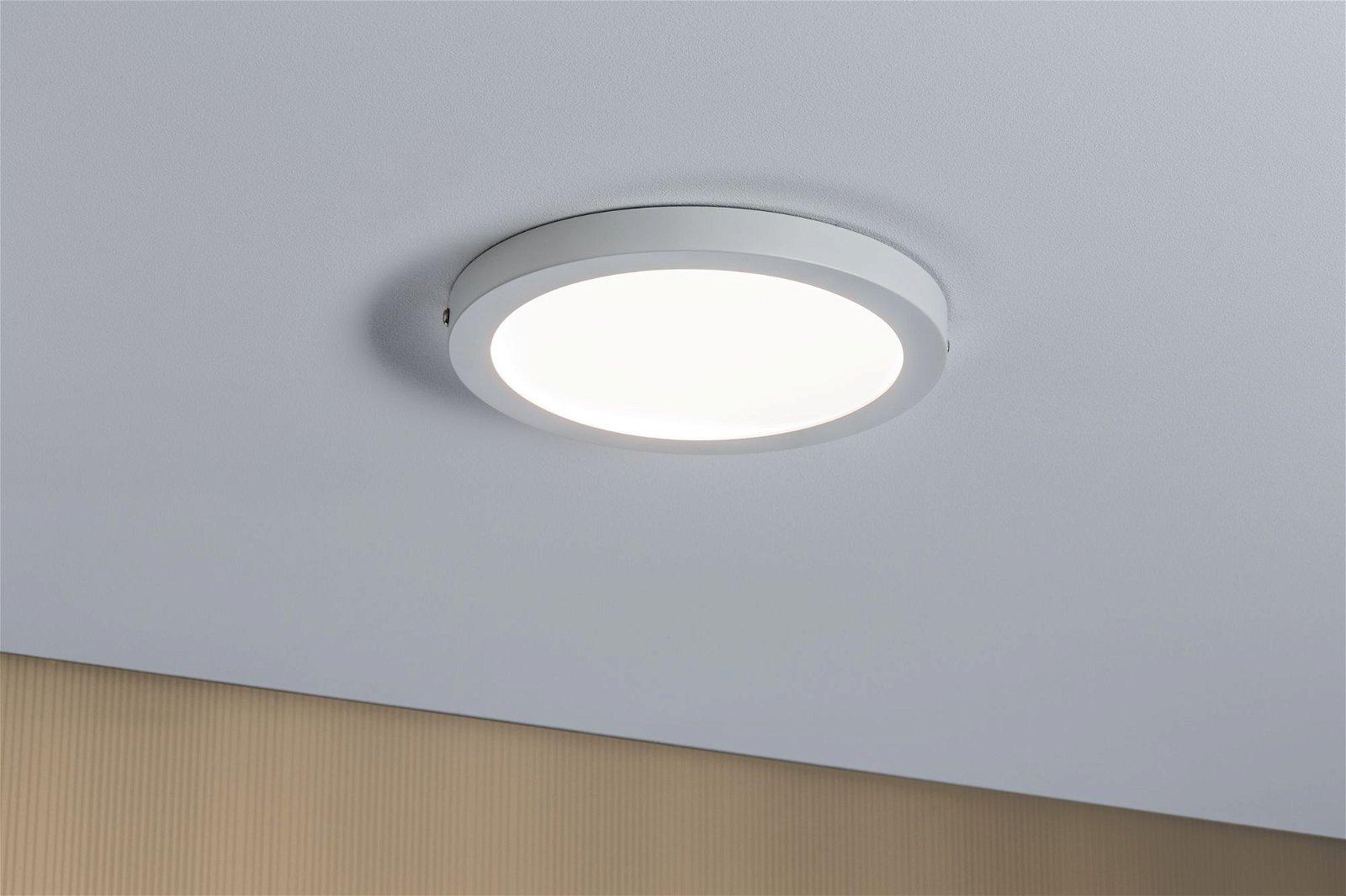 LED Panel Atria round 220mm 1500lm 4000K Matt white