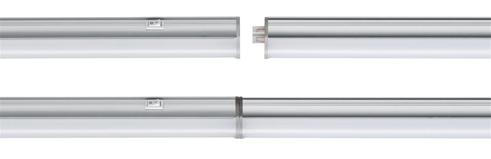 LED Unterschrankleuchte Bond inkl. Schalter 518x25mm 720lm 230V 4000K Satin