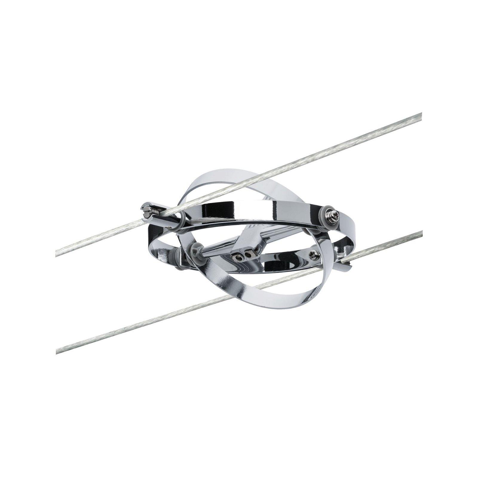 Kabelsysteem Cardan Losse spot GU5,3 max. 10W 12V Chroom mat/Chroom