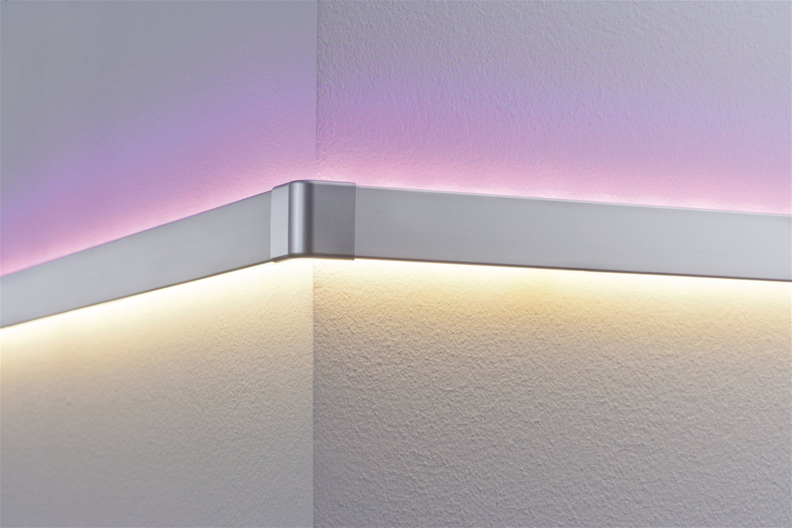 LED Strip profiel Duo Outside Corner pak van 2 Alu mat