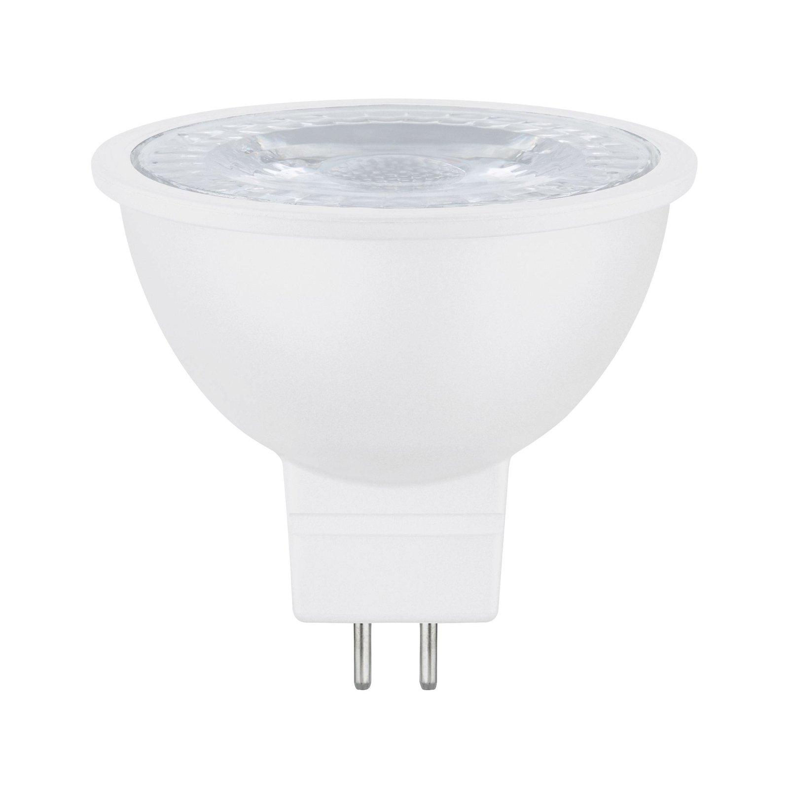 Réflecteur LED GU5,3 12V 445lm 6,5W 2700K Blanc dépoli