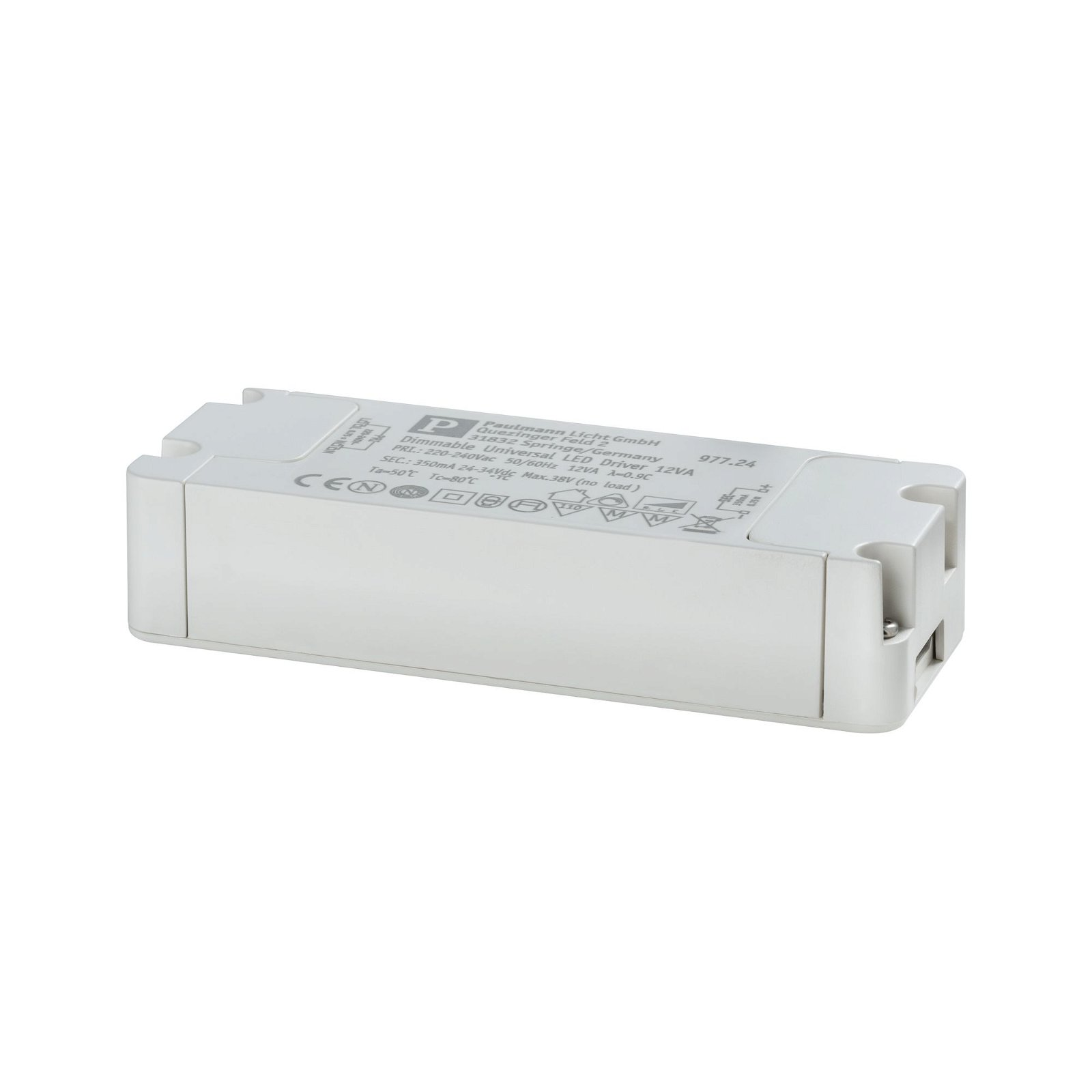 LED Driver Konstantstrom 230V 8-12VA Weiß