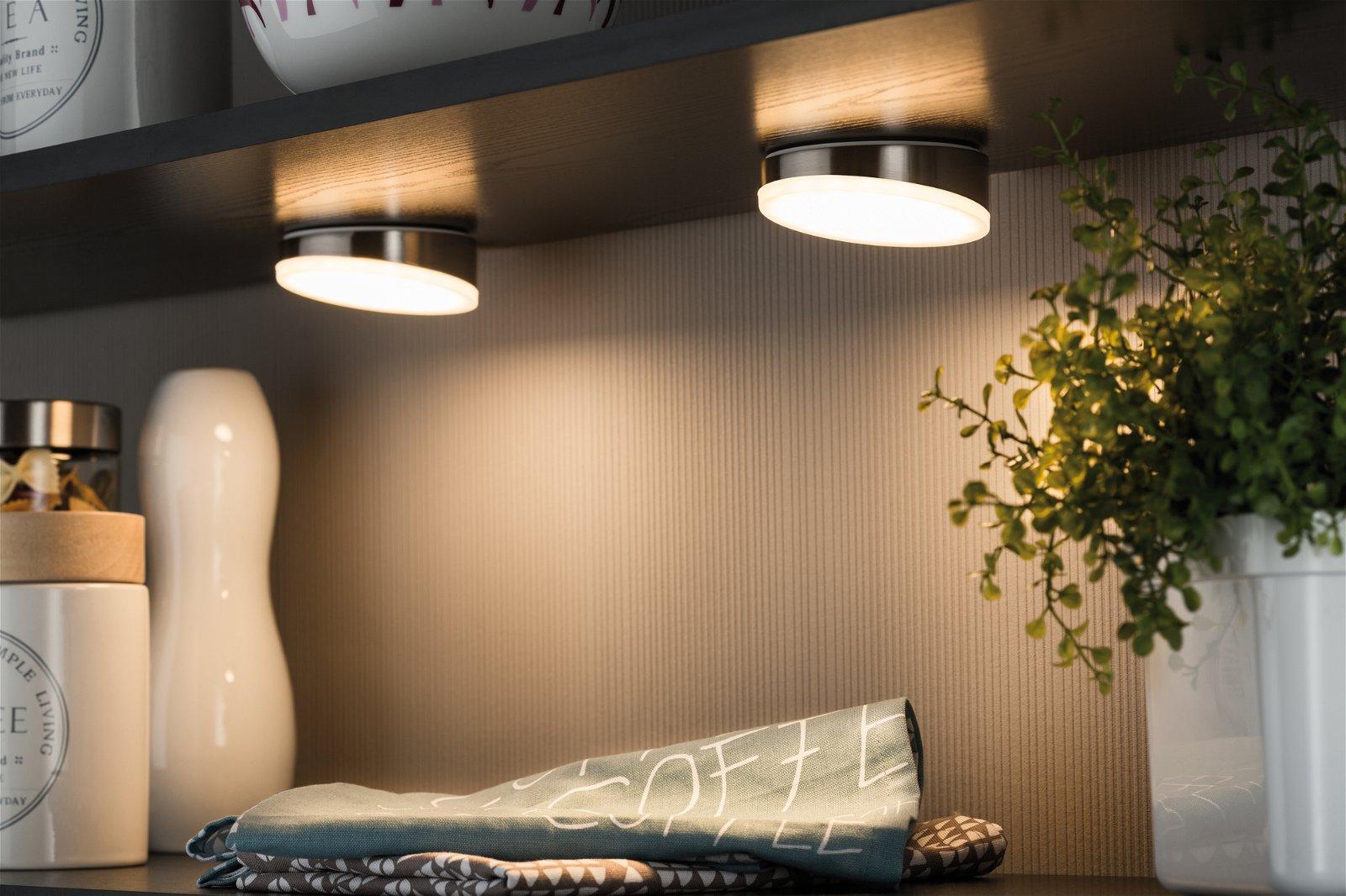 Möbel Aufbauleuchte LED Gate rund 1er-Set inklusive LED-Modul 1x6,2W