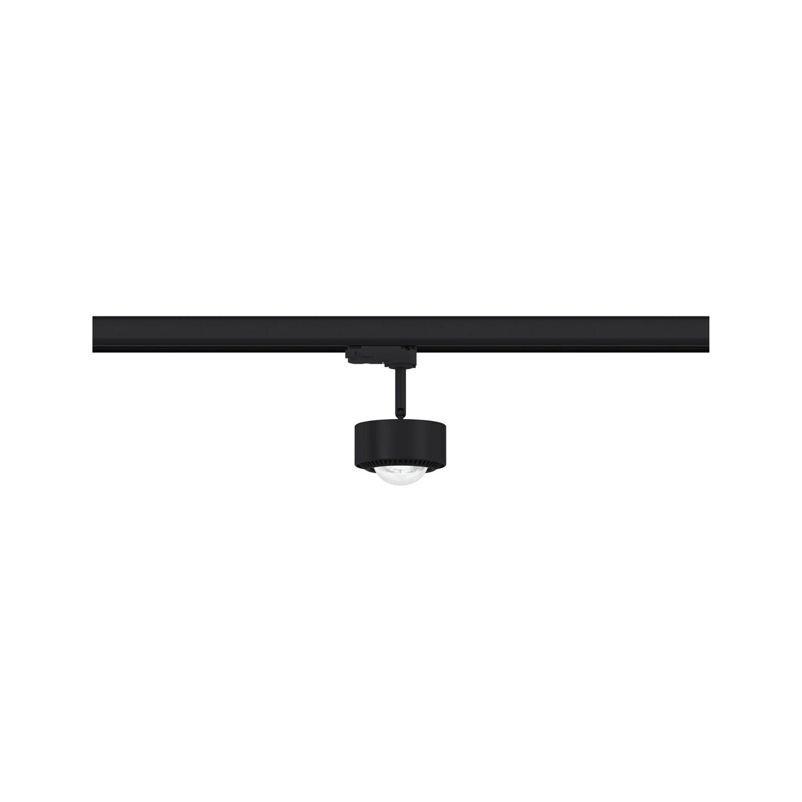 ProRail3 LED Schienenspot Aldan 800lm 8,2W 4000K 230V Schwarz/Chrom