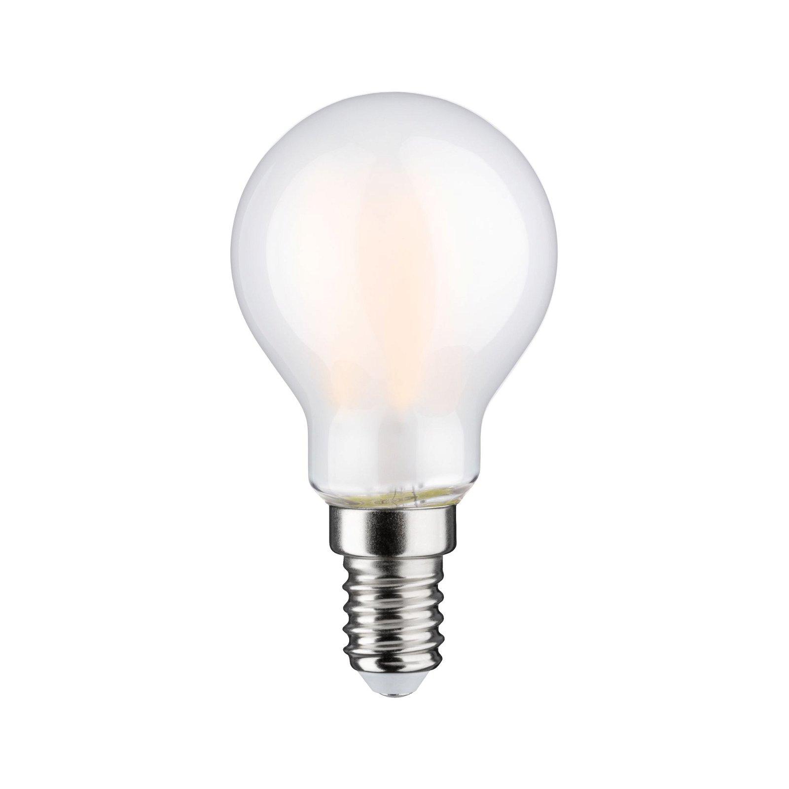 LED Tropfen Filament E14 230V 806lm 6,5W 2700K Matt