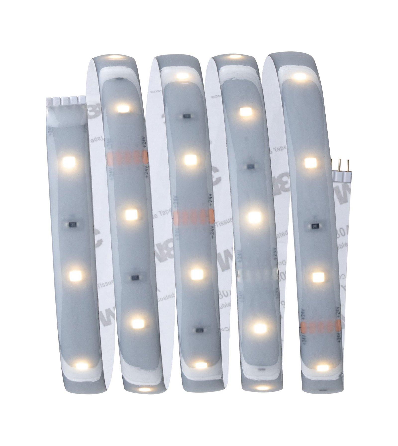MaxLED 250 LED Strip Warmweiß 1,5m beschichtet IP44 6W 450lm 2700K 24VA