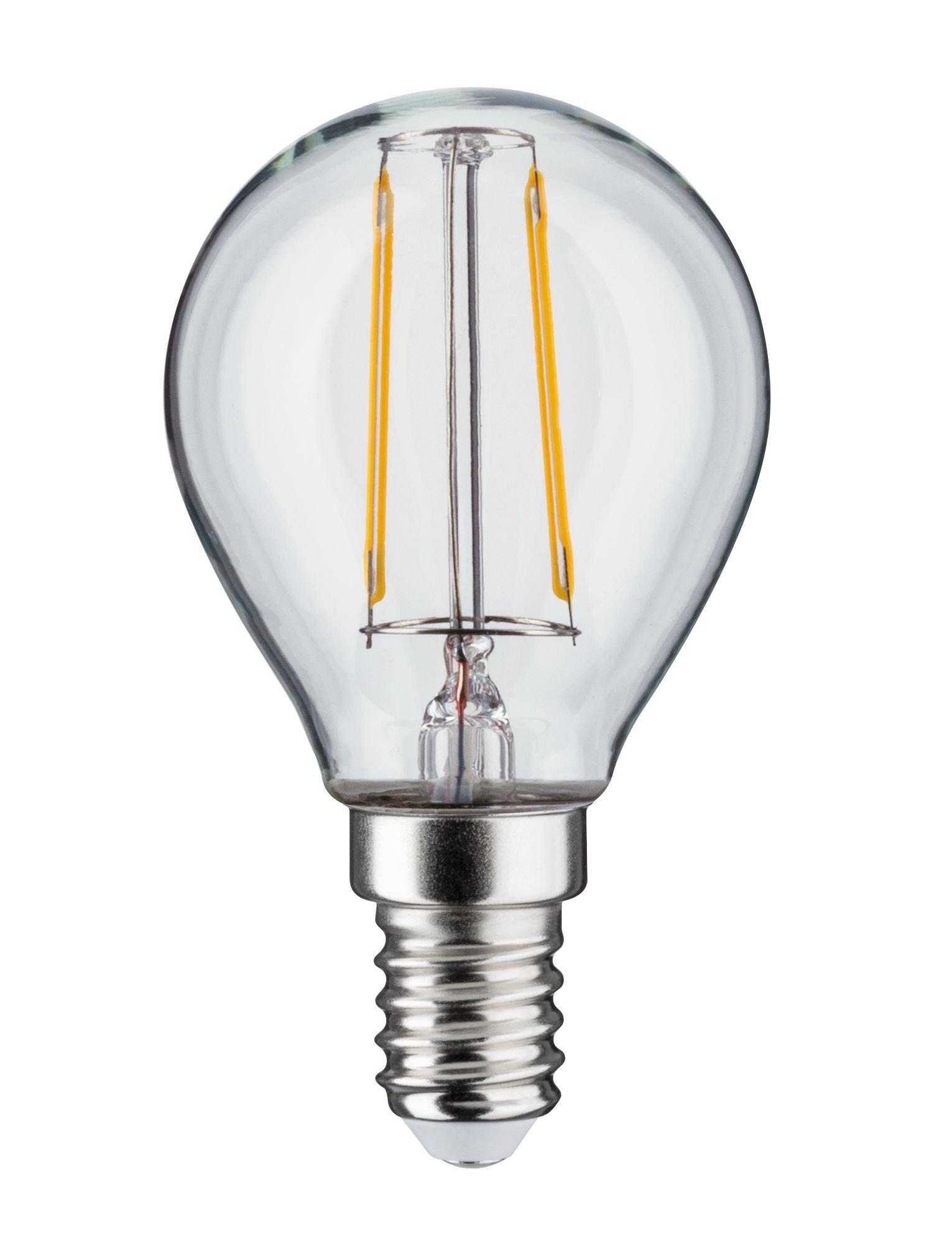 LED-kogellamp Filament E14 230V 250lm 2,6W 2700K Helder