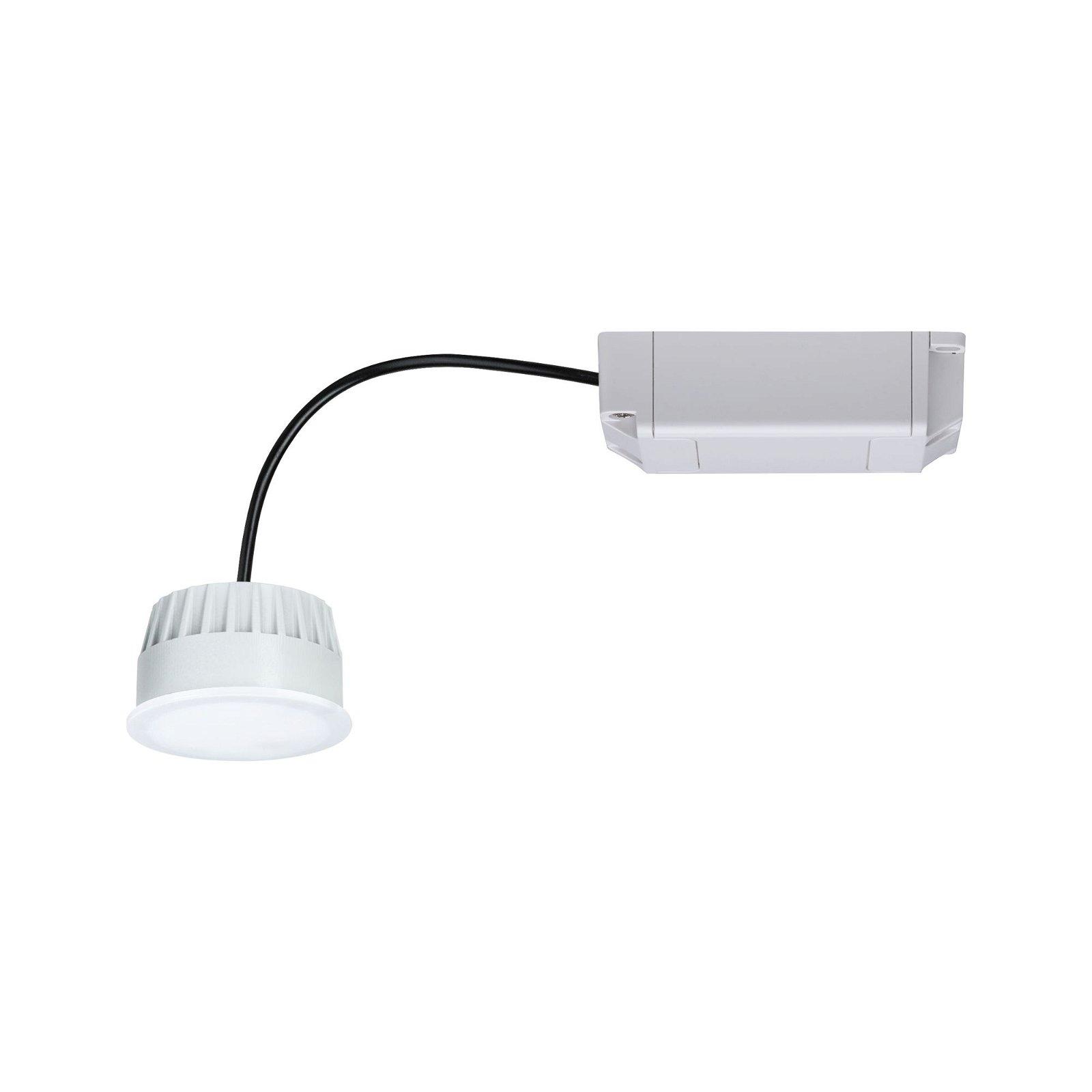 LED Modul Einbauleuchte Smart Home Zigbee Warmweiß Coin rund 50mm Coin 6W 460lm 230V 2700K Opal