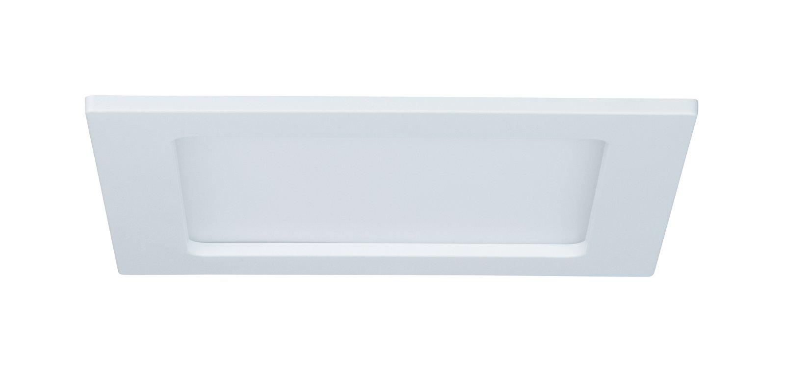 Panneau encastré LED IP44 carré 165x165mm 1263lm 4000K Blanc