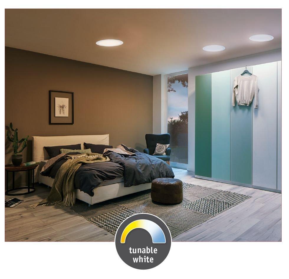 LED Panel Smart Home Zigbee Cesena rund 225mm Tunable White Weiß matt