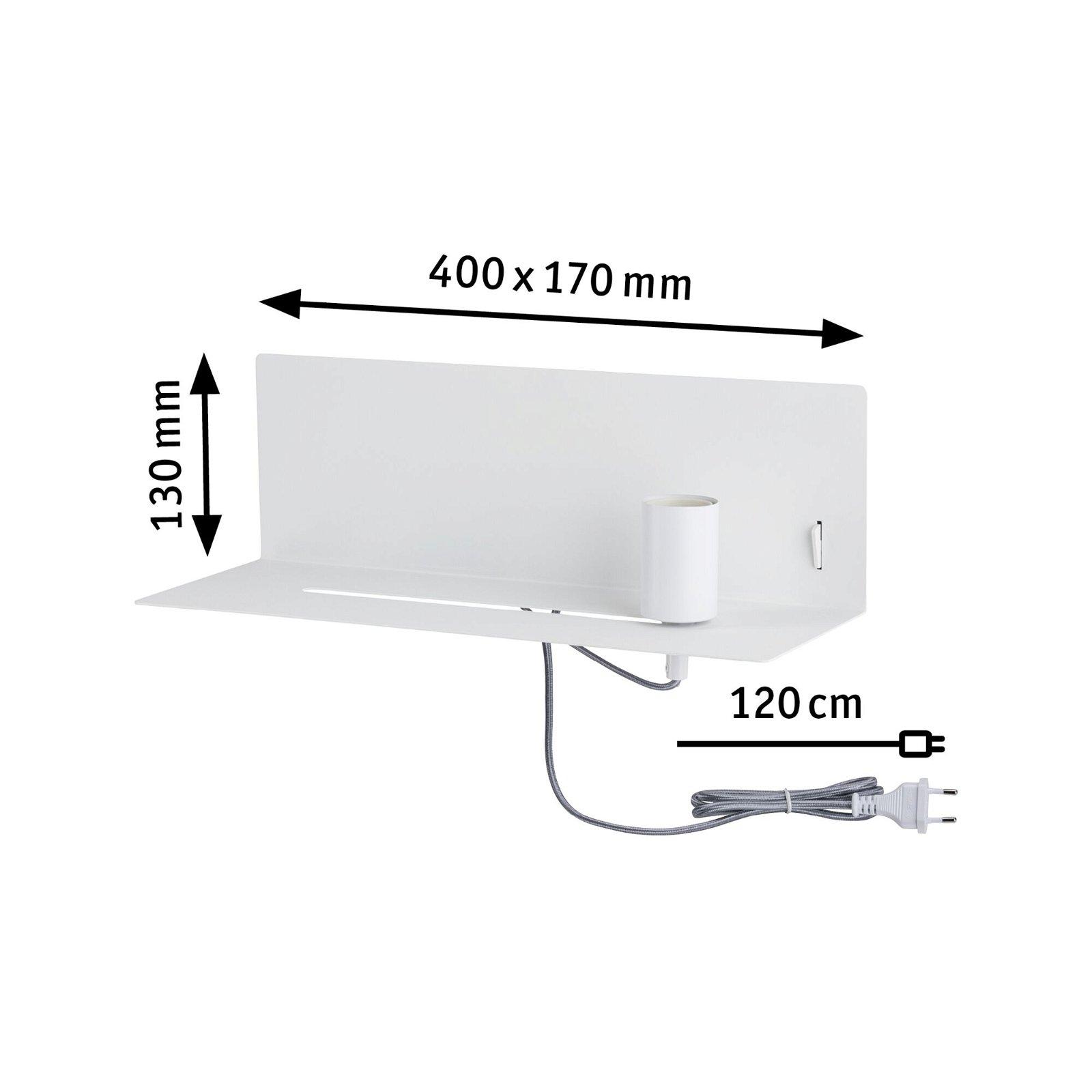 Applique Devara E27 230V max. 40W Blanc