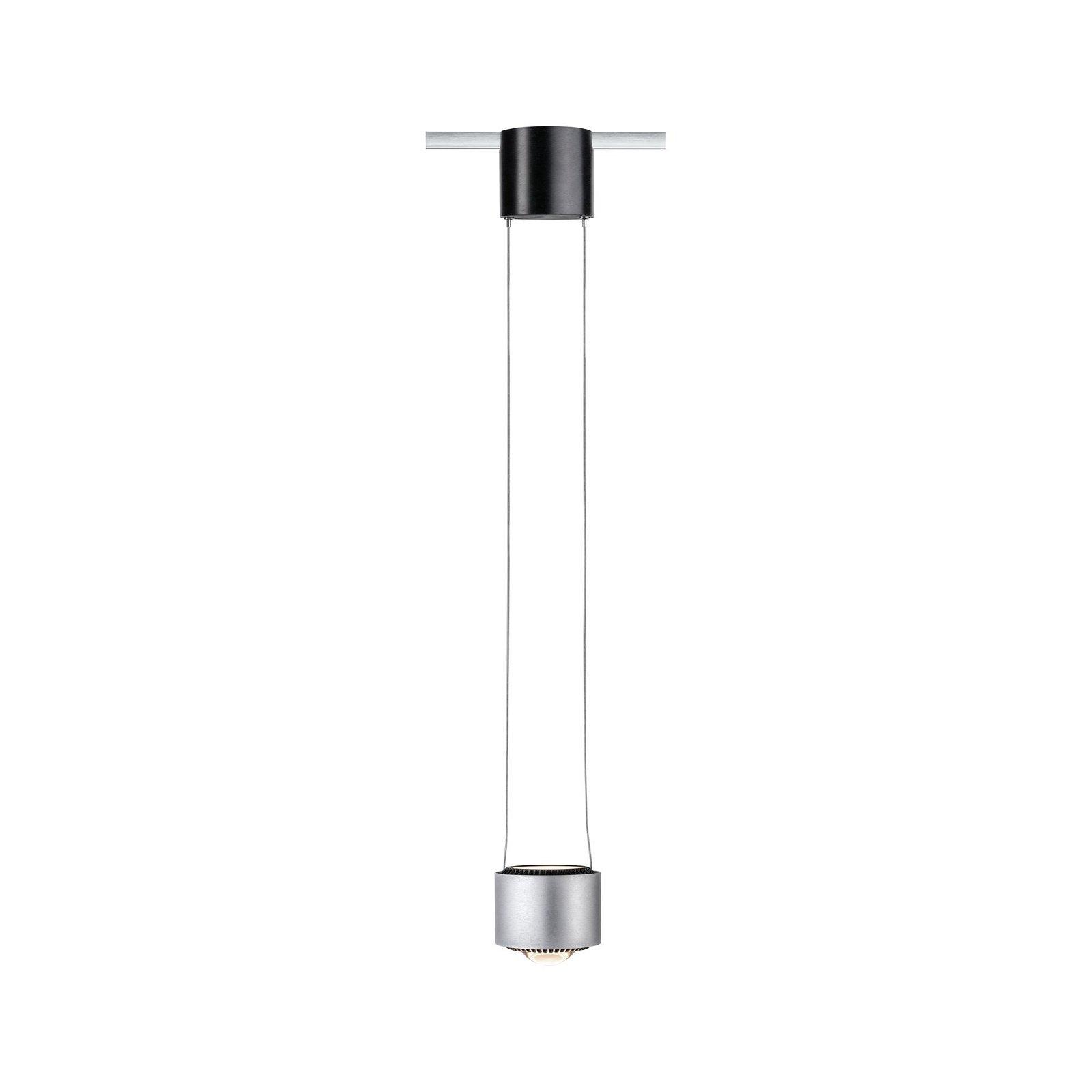 VariLine LED Pendel Aldan 8,5 / 1x4,5W Alu gebürstet/Schwarz