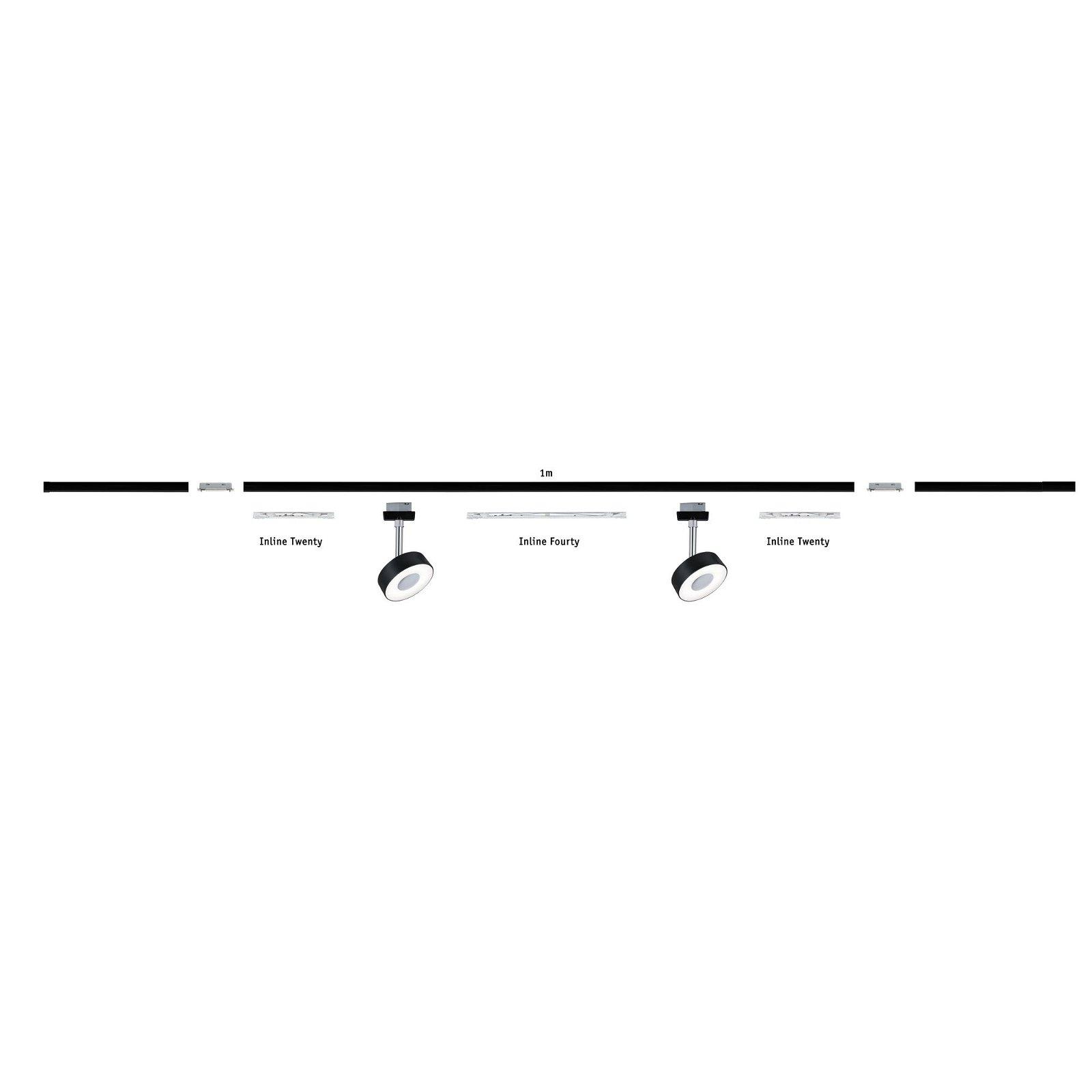 URail Verbinder Linienverbinder 70x11mm max. 1.000W Silber