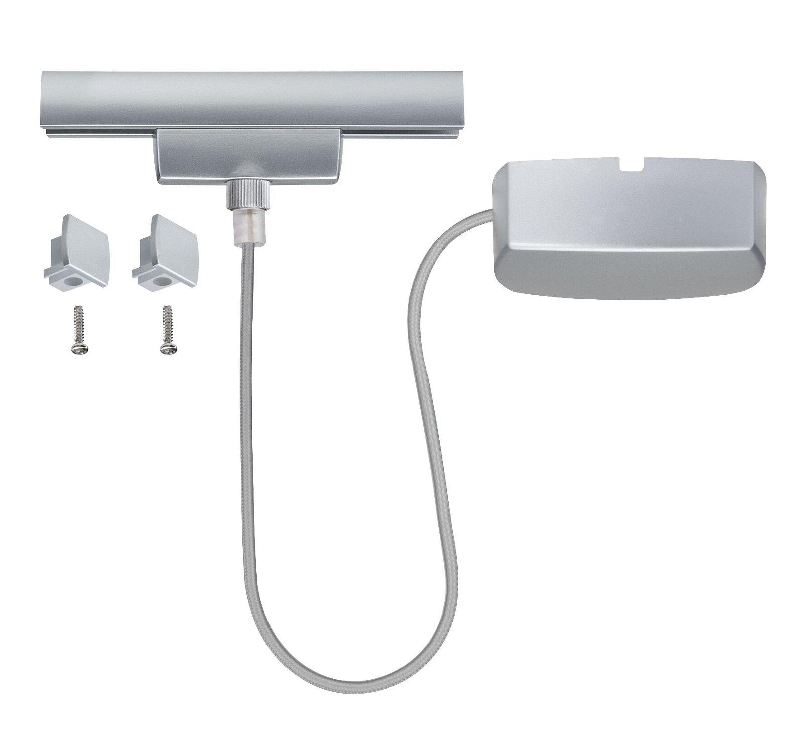 URail Einspeisung Kabel 0,5m max. 1.000W Chrom matt