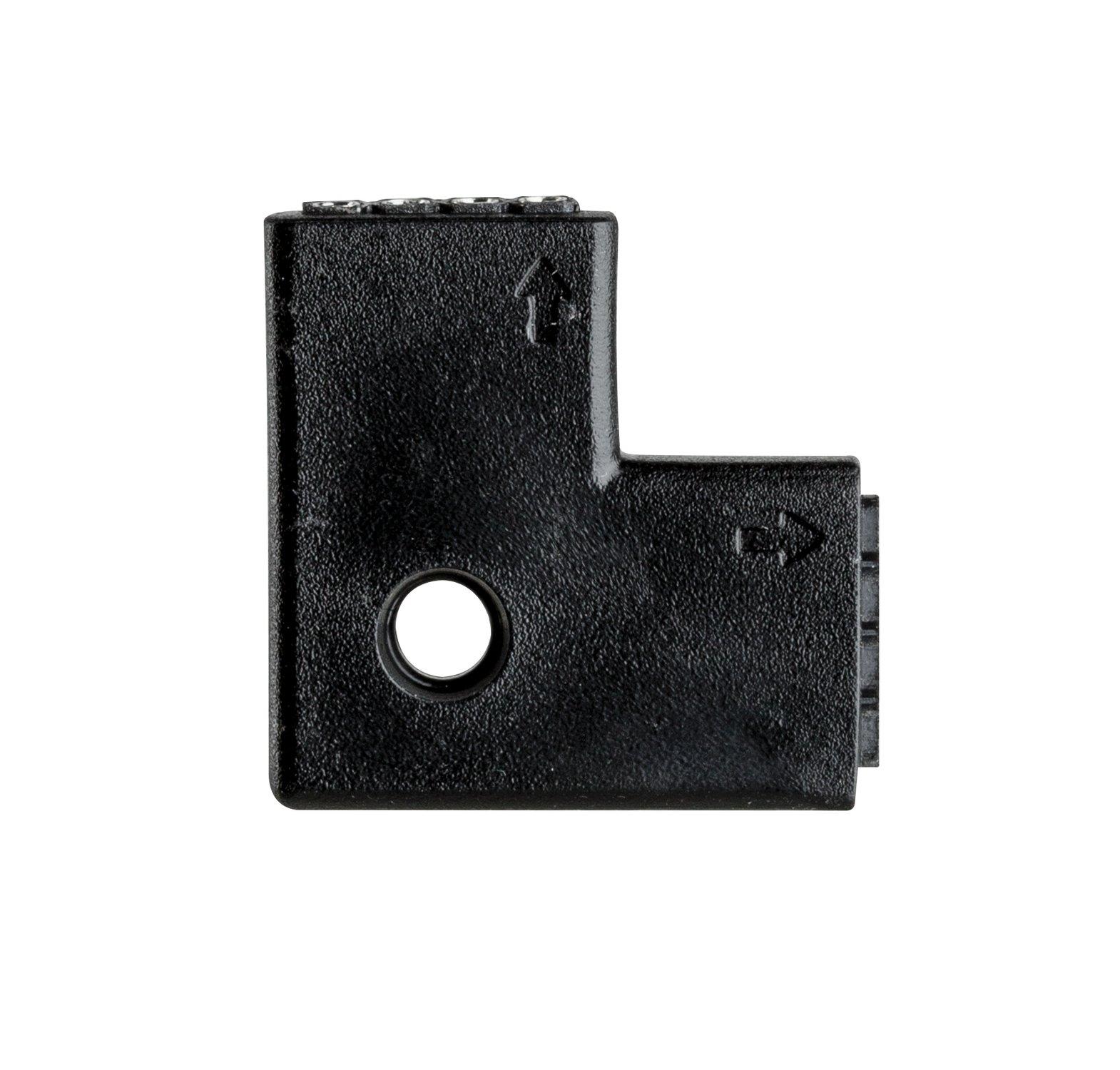 YourLED Verbindingen Hoekstuk 23x23mm max. 60W Wit/Zwart