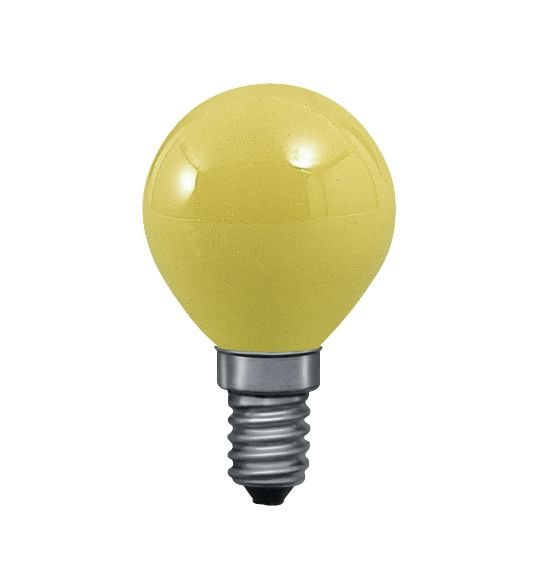 Glühbirne E14 230V 83lm 25W Gelb