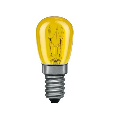 Glühbirne E14 230V 83lm 15W Gelb