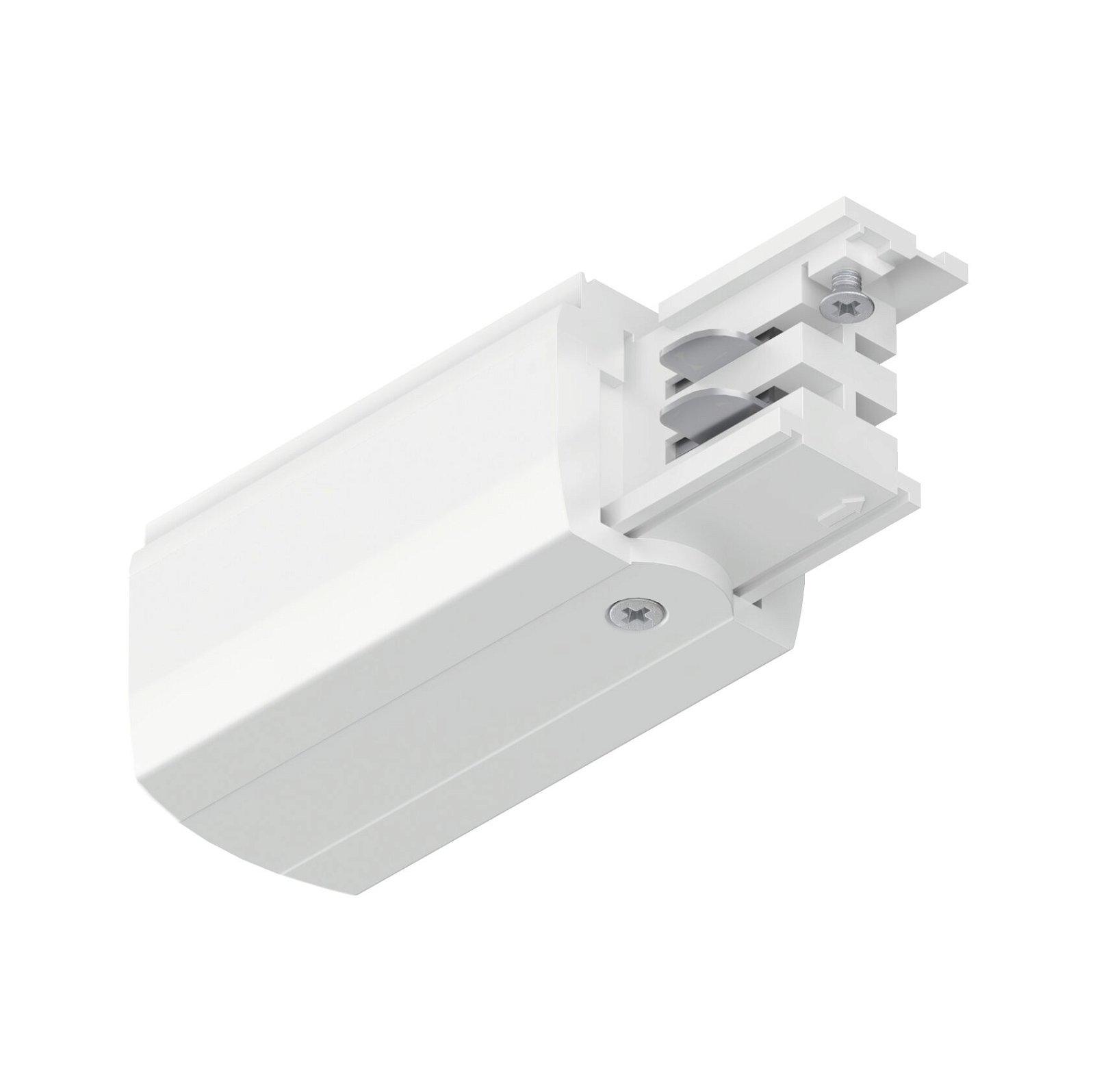 ProRail3 Einspeisung Ende Rechts 99,5x35mm max. 3.680W Weiß