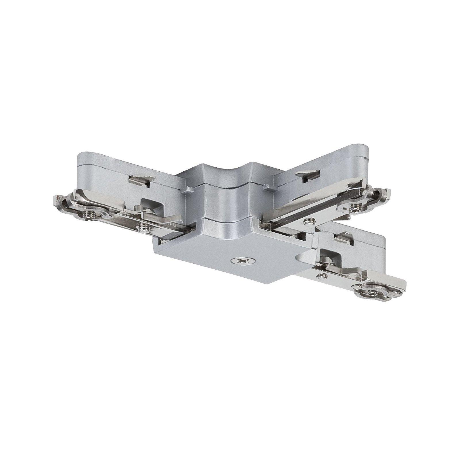 URail Connecteur Pièce en T 104x62mm max. 1.000W Chrome mat