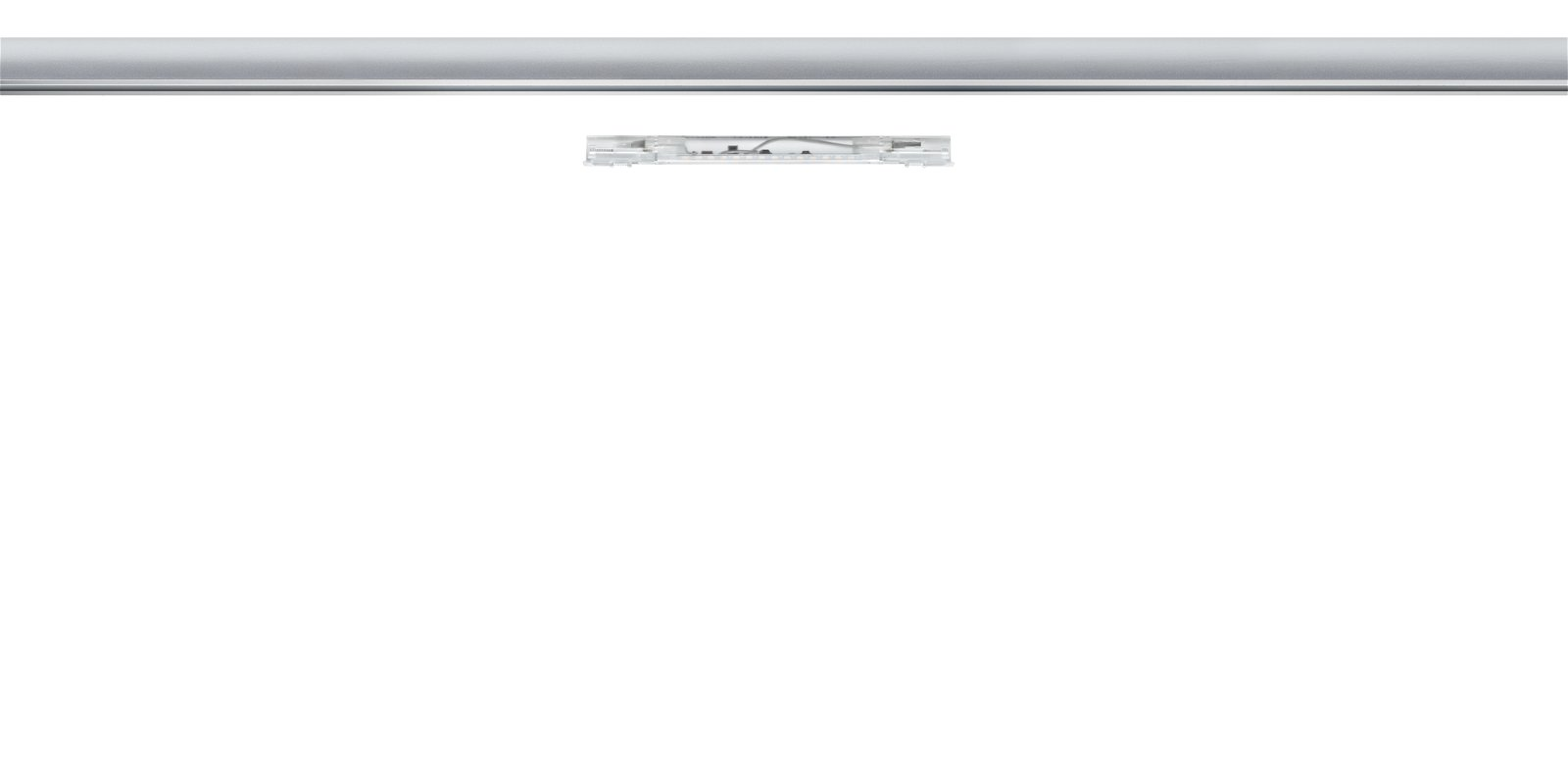 URail LED Spot Inline Twenty 2 W transparant 20cm