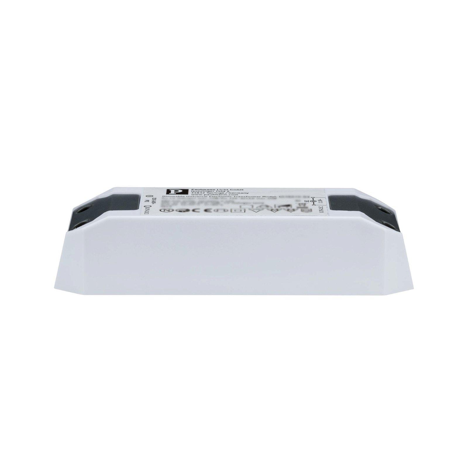 Transfo électronique 220-240/12V 65VA Blanc