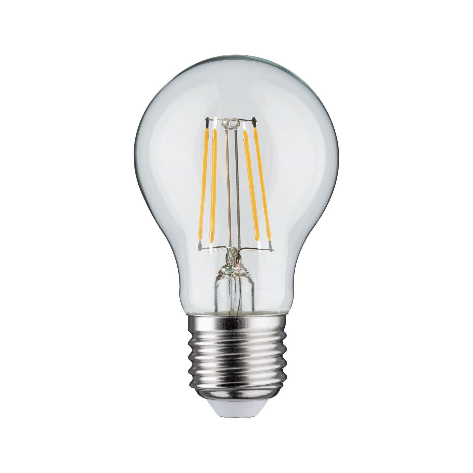 LED-gloeilamp Filament E27 230V 470lm 4,5W 2700K Helder