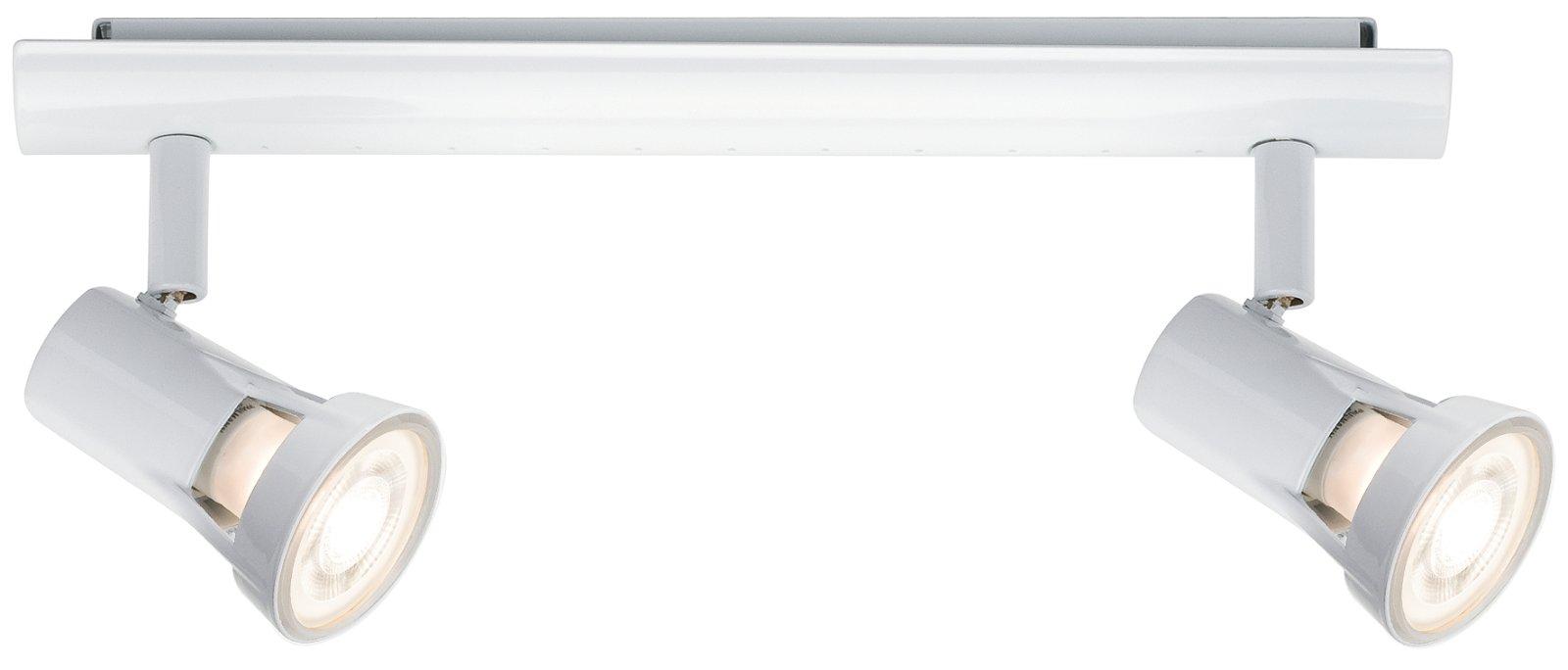 Deckenstrahler Teja GU10 230V max. 2x10W Weiß