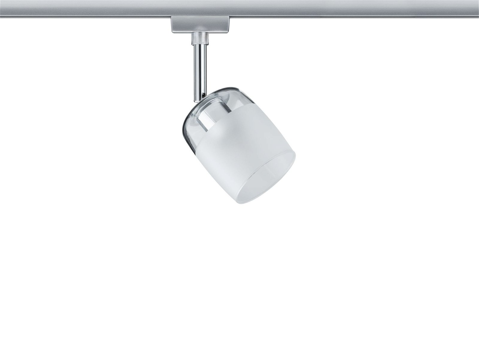 URail Schienenspot Blossom Einzelspot G9 max. 10W 230V Chrom matt/Klar/Satin