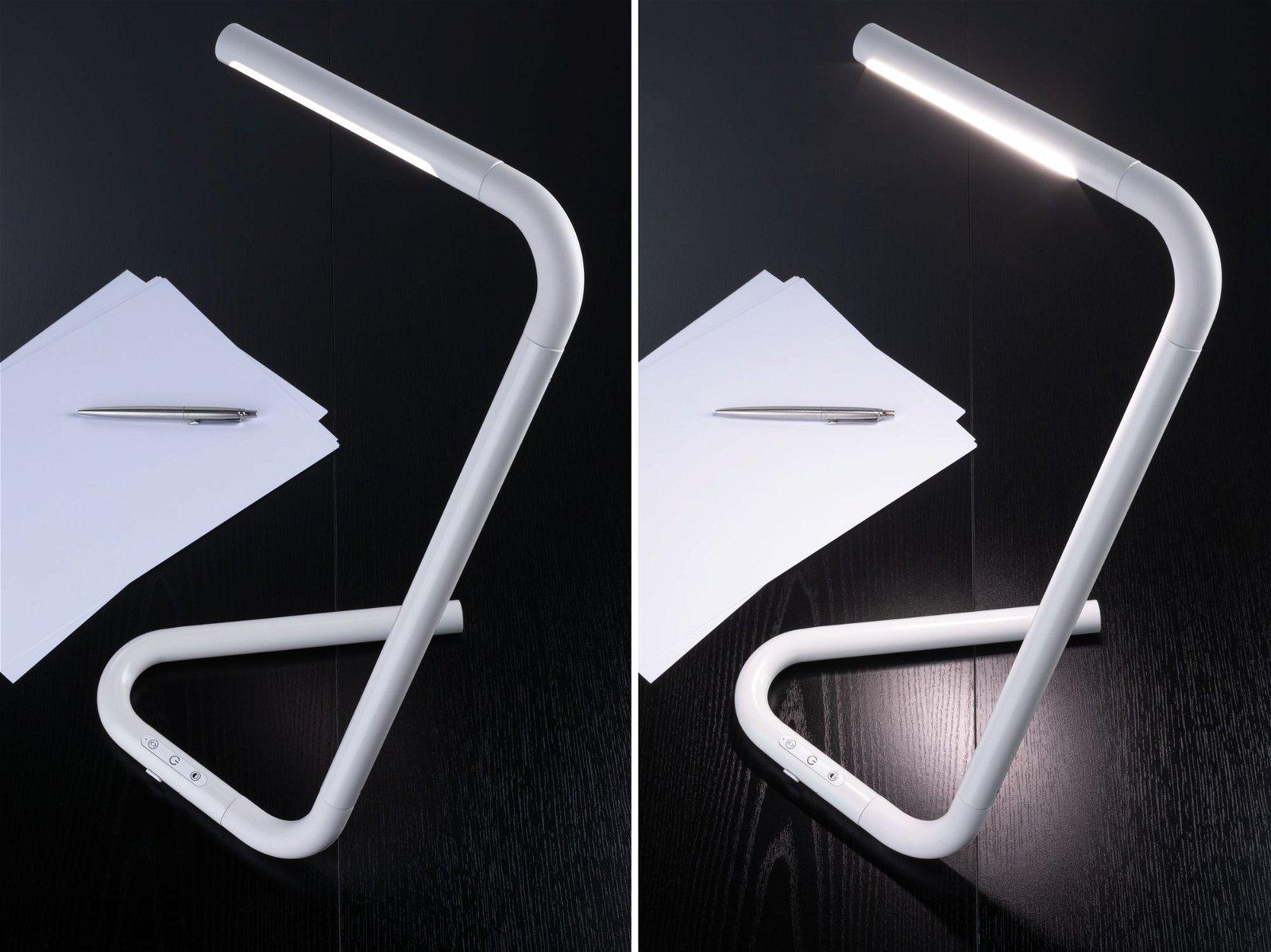 LED Schreibtischleuchte FlexLink Tunable White 640lm 4,5W Weiß