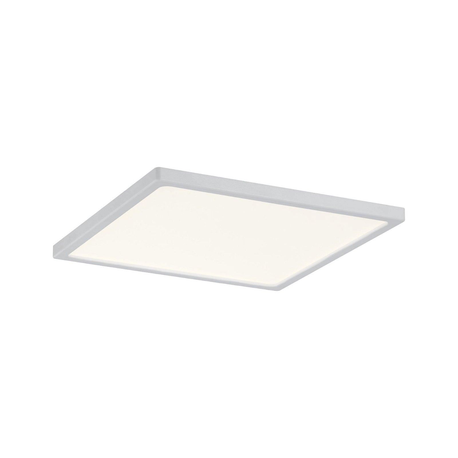 LED Einbaupanel Areo IP44 eckig 180x180mm 1300lm 3000K Weiß matt
